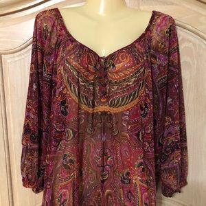Designed INC elegant blouse